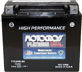 MotocrossYTX20L-BS Battery for Jet Ski Honda Aqua Trax Kawasaki JS800 Sea Doo Wave Runner