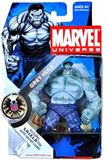 Hasbro Marvel Universe Series 2 Grey Hulk Action Figure #14