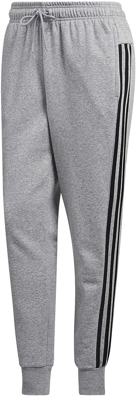 adidas Women's Athletics Essential Cotton Fleece 3-Stripe Jogger Pants