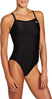 The Finals TYR 9830A0238 Solid Butterfly-Back Black 38