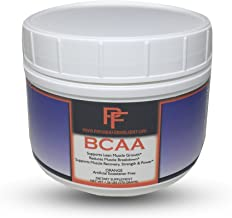 Physique Formula BCAA Powder-Artificial Sweetener Free Branched Chain Amino Acids Powder Orange Flavor. All Natural BCAAS Without Artificial Sweeteners 1.26 lb