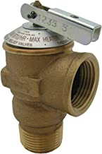 Best water heater pressure relief valve thread size Reviews