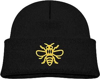 Manchester Bee Baby Boy Warm Winter Hats Knit Cap Black