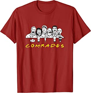 Communist Friends Comrades T-Shirt - Milkshake Funny Tee