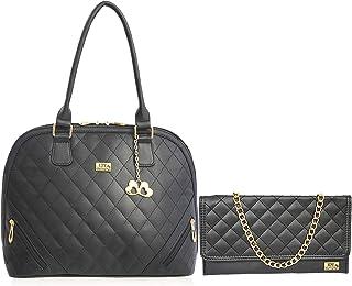 I DEFINE YOU Mia Genuine Leatherette Handbags for Girls and Women
