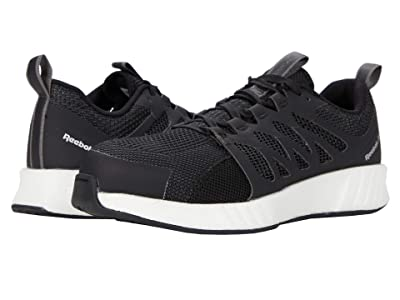 Reebok Work Fusion Flexweavetm Work RB413 Composite Toe (Black/White) Women