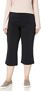 Women's Slim Capri Flare Athletic Pant