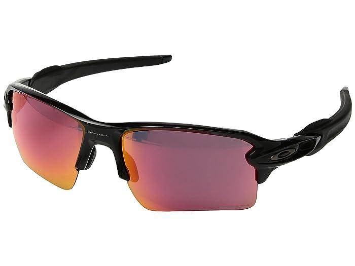 Oakley Flak 2.0 XL (Polished Black w/ Prizm Field) Fashion Sunglasses