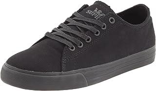 Shoes Thunder Low Black Satin Tuf