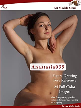 Art Models Anastasia039: Figure Drawing Pose Reference (Art Models Poses) (English Edition)