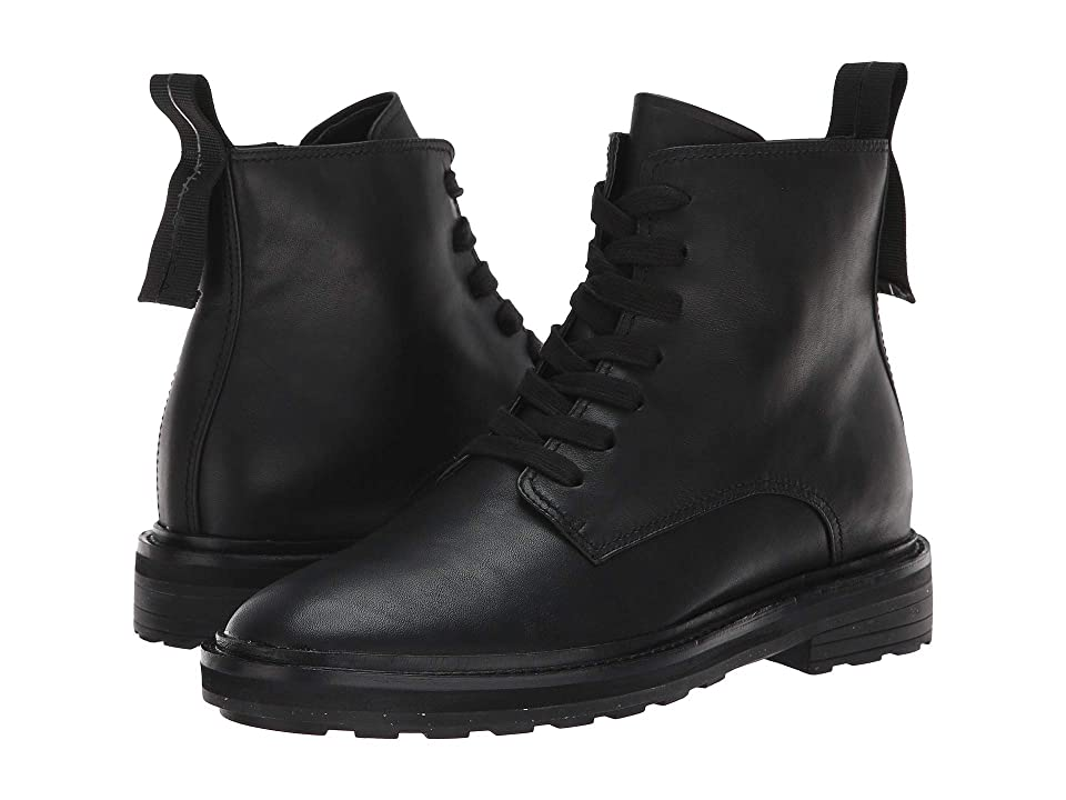 Via Spiga Kinley (Black Weather Resistant Leather) Women
