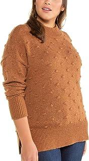 Studio Untold Pullover mit Gestrickten Noppen Felpa Donna
