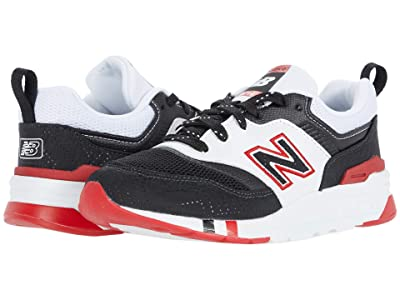 New Balance Kids 997H (Little Kid) (Black/Team Red) Boys Shoes