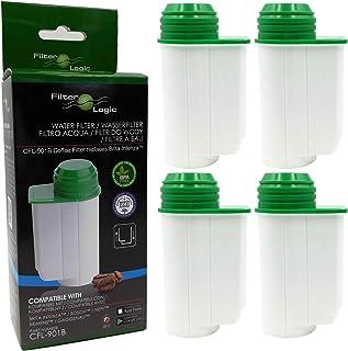 4x FilterLogic CFL-901B filtre à eau remplace BRITA Intenza TCZ7003 - TCZ7033 - TZ70003-575491 - 467873-1016723 Cartouche ...