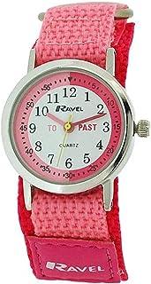 Ravel Time Teacher Kids Girls Pink Easy Fasten Strap Watch R1507.54