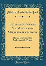 Facts and Figures Vs. Myths and Misrepresentations: Henry Wirz and the Andersonville Prison (Classic Reprint)