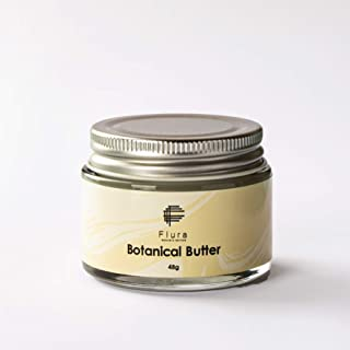 [Amazon限定ブランド] Flura BOTANICAL BUTTER (ボタニカル バター48g)シアバター オーガニック クリーム WAXクリーム&バーム 濡れ髪 保湿 髪さらさらフルーラ ボタニカル バター48g
