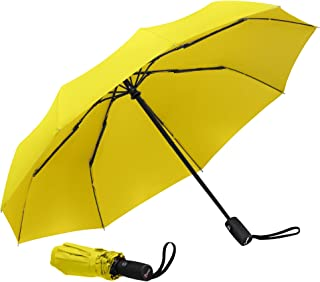 Repel Windproof Travel Umbrella with Teflon Coating (Yellow) - Golf Umbrella