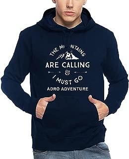 ADRO Men's Adventure Printed Cotton Hoodies