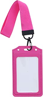ID Holder with Wrist Strap - Hot Pink