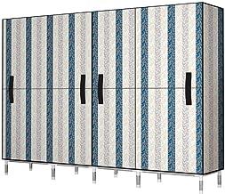 Wardrobe Storage Cabinet Simple Wardrobe Clothes Storage Organiser Bedroom Furniture Cupboard Clothing Storage Cabinet Por...