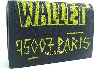 [バレンシアガ] 三つ折り財布 グラフィティ VILLE ミニ コンパクト 558208 [並行輸入品]