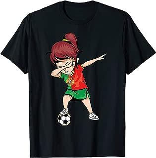 Dabbing Soccer Portugal Jersey Shirt - Portuguese Football
