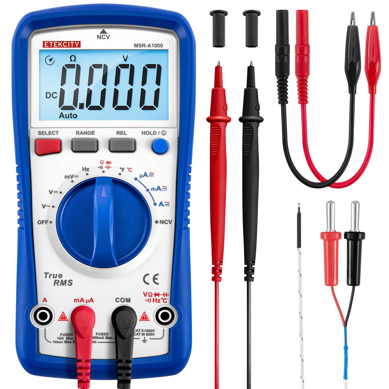 Etekcity Multimeter Temperature Resistance Capacitance