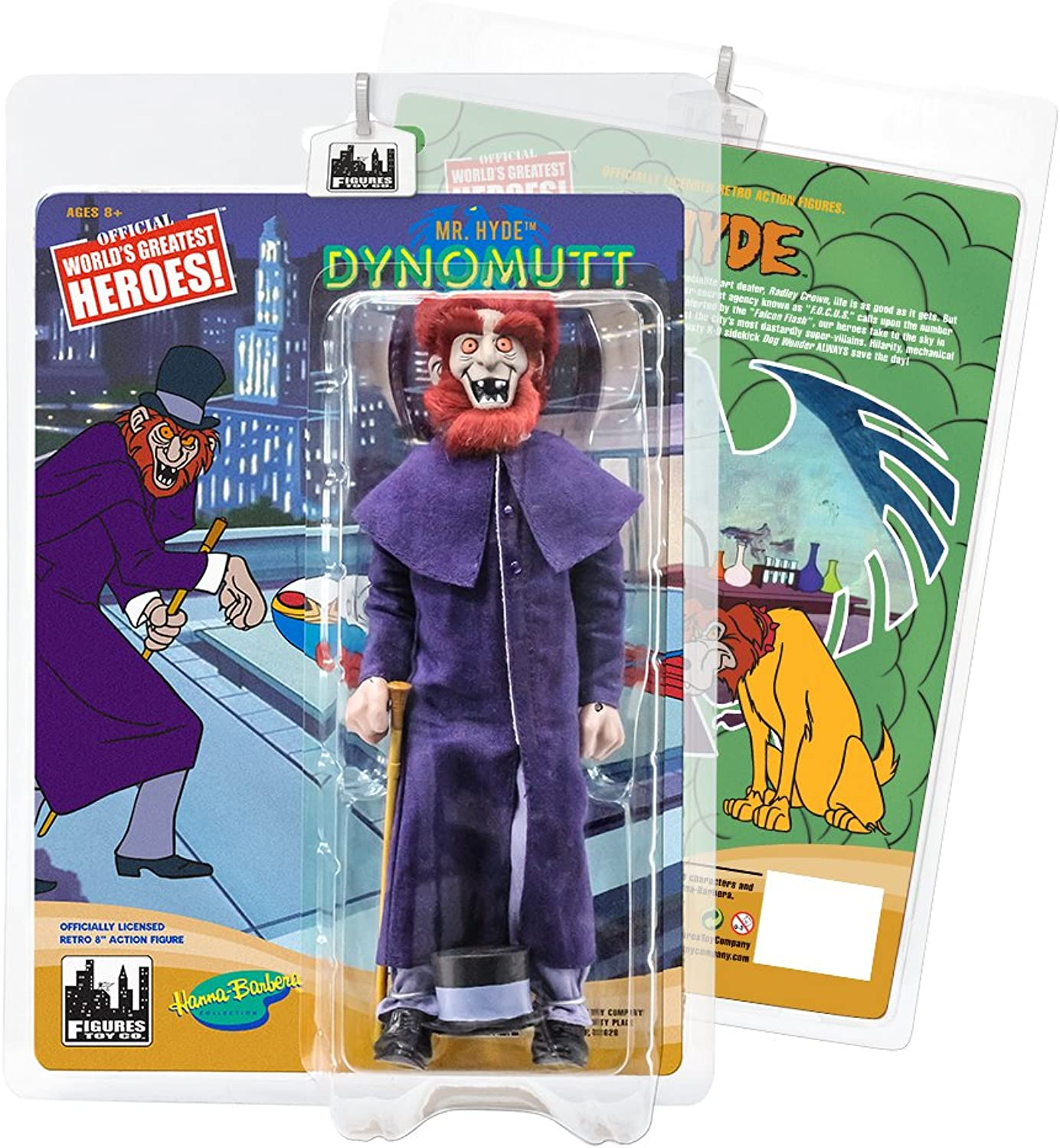 Dynomutt Retro Action Figures Series Mr  Mr  Mr  Hyde fb3aff
