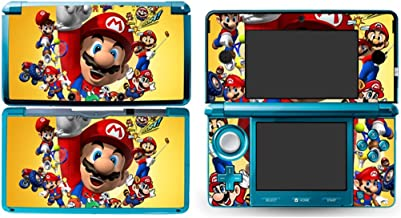 MARIO Nintendo 3DS Cover Skin Decal Sticker Vinyl Matte Finish + Free Screen Protectors (For Old Version Prior 2015)