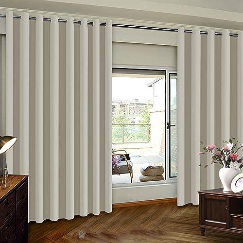 Extra Wide Curtain Panels: Amazon.com