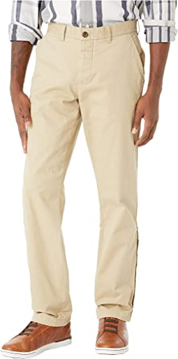 Chino Pants with Adjustable Waist Velcro® Buttons and Magnets at Outside Seams