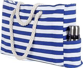 Best large beach bag zip Reviews