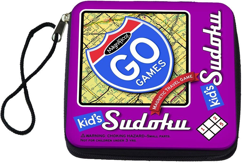 Magnetic Poetry Go Games Kids' Sudoku