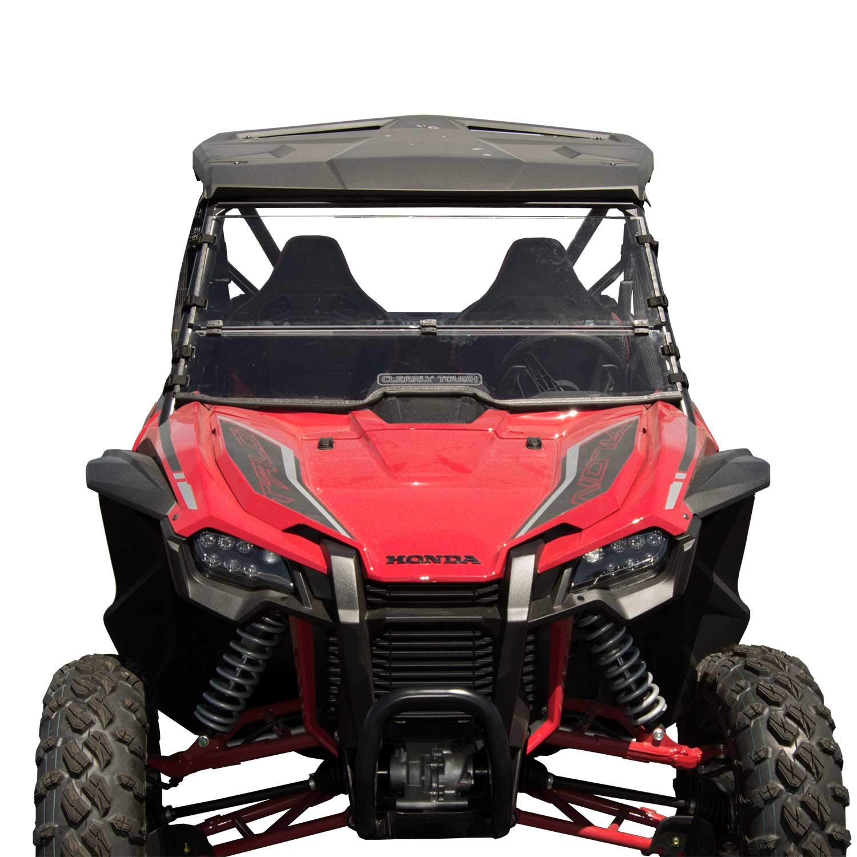 1000R Honda Tailgate Accessories SuperATV Honda Talon Bed Enclosure Steel Frame with UV Resistant Powder Coating 1000 X-4 Tubed Bed Enclosure Compatible with Honda Talon 1000 X