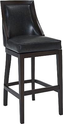 Sensational Amazon Com Belham Living Emmett Square Seat Swivel Extra Gamerscity Chair Design For Home Gamerscityorg