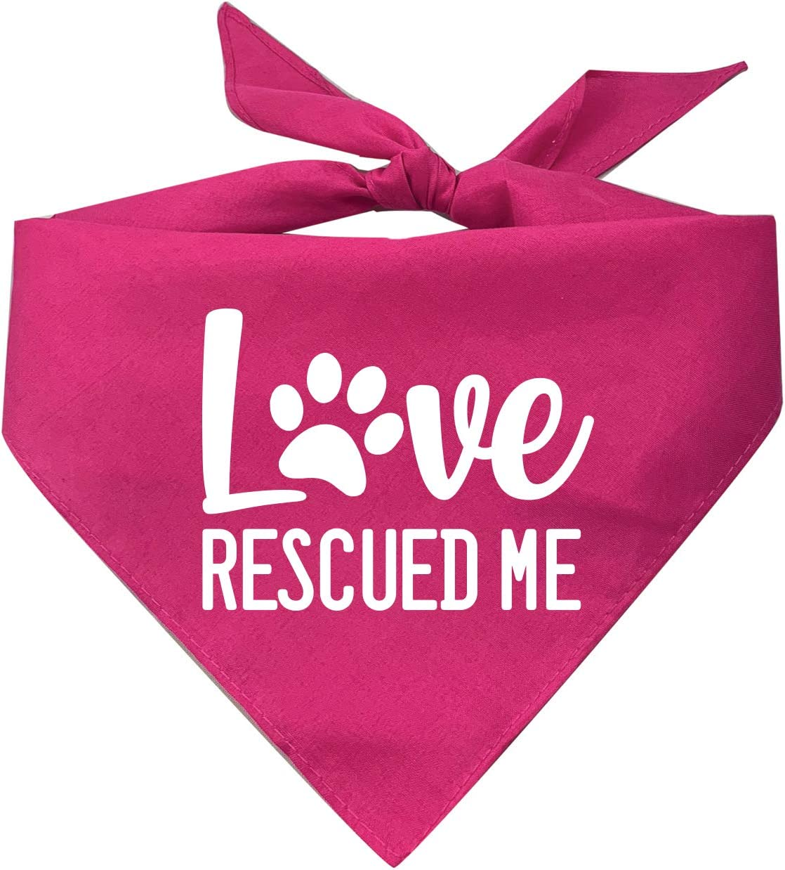 Tees Tails Cash special Colorado Springs Mall price Love Rescued Me Ba Rescue Triangle Dog Adoption