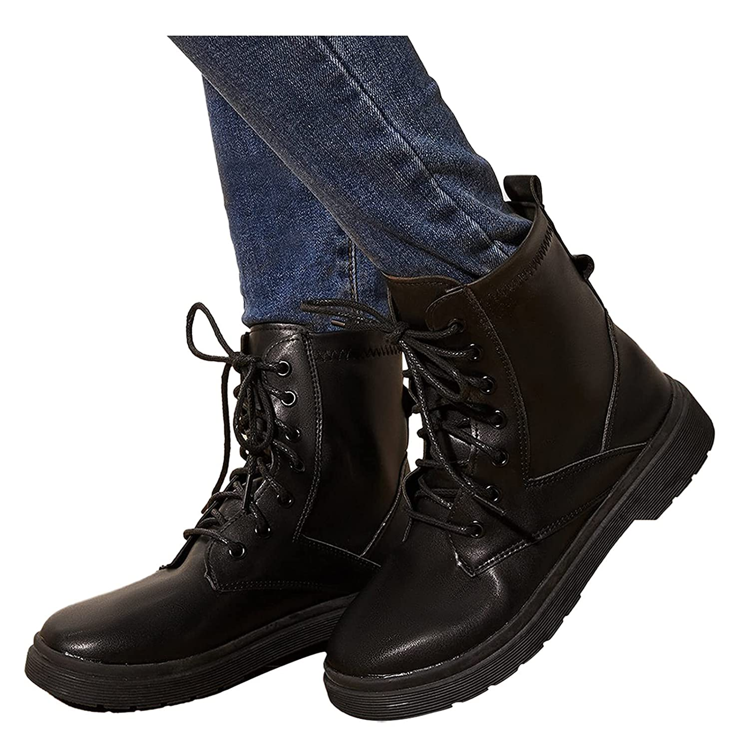 Long-awaited Padaleks Women's High Waterproof Lace Wo Fashion Boot up Leather Easy-to-use