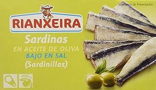 Rianxeira, Conserva de sardina, sardinilla en aceite de