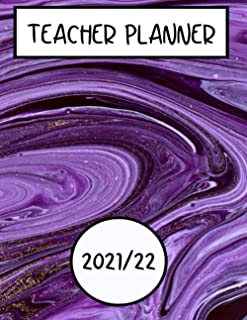 Teacher Planner - September to July (2021-22), Primary school UK: Teachers Planner - UK style planner, lesson plans, term ...