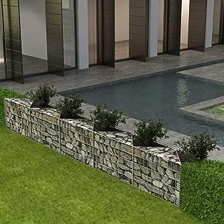 Tidyard Gabion Basket/Planter/Raised Vegetable Bed Residential Landscape 129.9