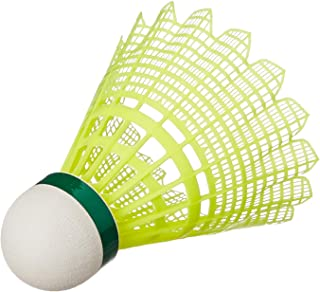 Yonex Mavis 2000 Green Cap Nylon Shuttlecock, Pack of 6