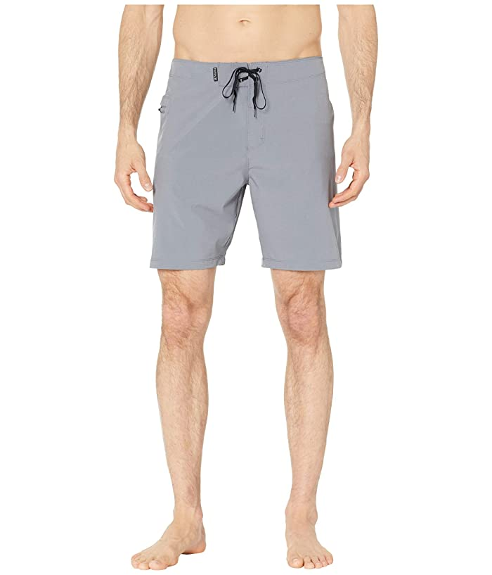 Hurley 18 Phantom One and Only Stretch Boardshorts (Cool Grey) Men