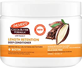 Palmer's Cocoa Butter & Biotin Length Retention Deep Conditioner, 12 Ounce