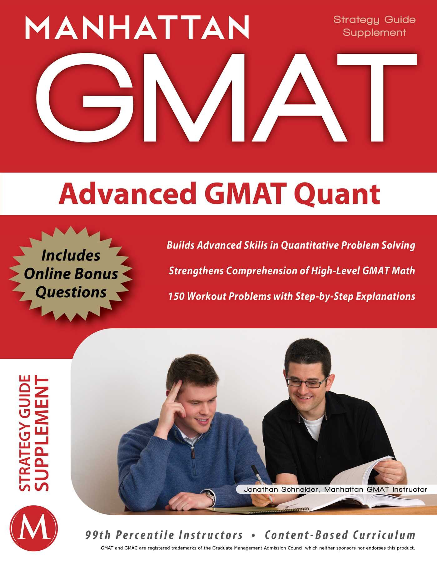 Image OfAdvanced GMAT Quant (Manhattan Prep GMAT Strategy Guides)