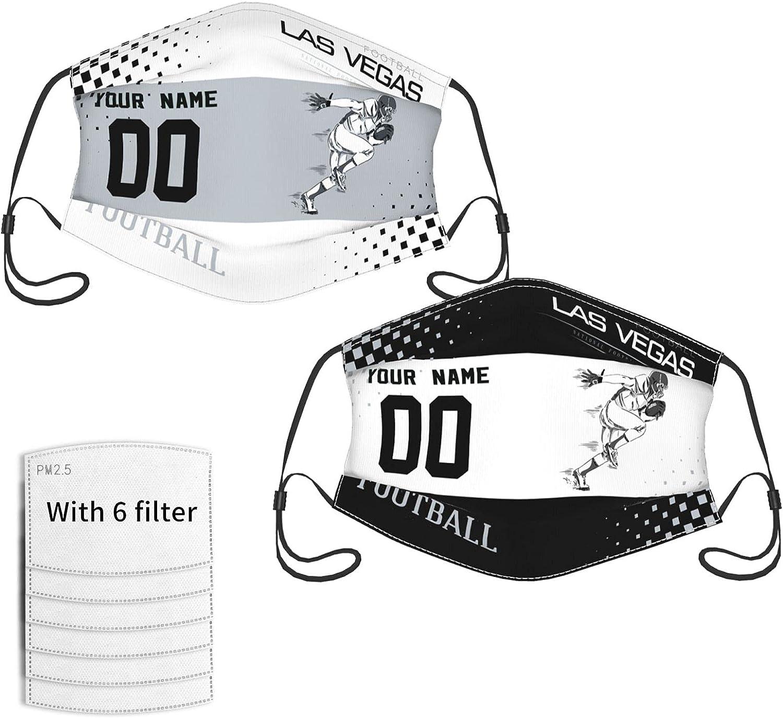 Custom 2PCS Football Face Cover Mas Adjustable Japan Maker New Mesa Mall Bandana with