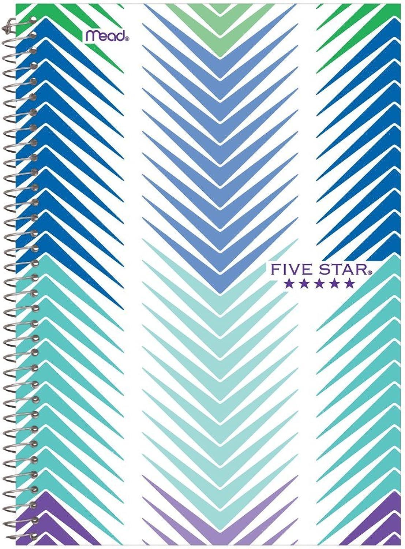 Five Star Spiralblock, 2-teilig, liniert 1 Packung Packung Packung sortiert B00E6RPJTK  | Reichlich Und Pünktliche Lieferung  5b8f8c