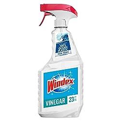 Windex with Vinegar Glass Cleaner, 23 fl oz Trigger Bottle