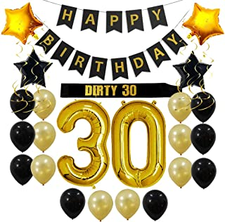 Best dirty 30 party themes Reviews
