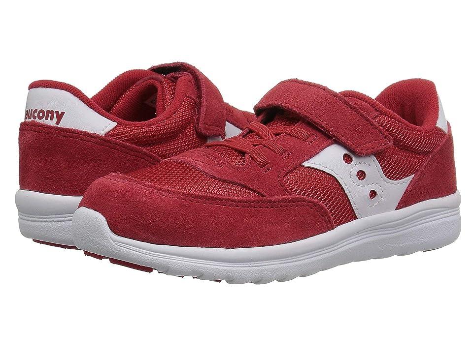 Saucony Kids Originals Jazz Lite (Toddler/Little Kid) (Red 2) Boys Shoes